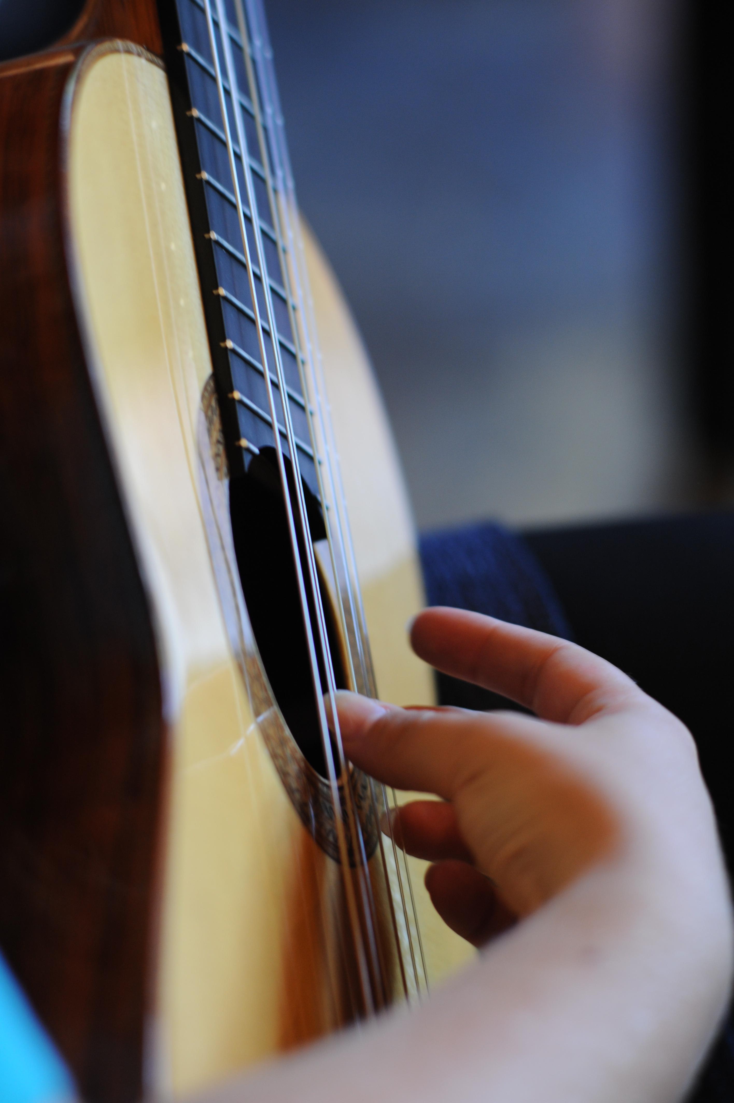 Sarah Vandendriessche gitariste